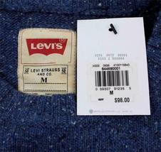 Levi's Men's Premium Classic Wool Sweater Blue 644590001 image 6
