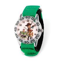Disney Kids Toy Story Time Teacher Green Band Watch - $43.50