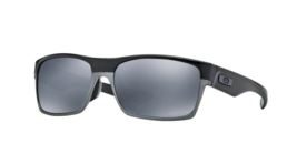 Oakley Sunglasses OO9256 06 TwoFace Asian Fit Polished Black Iridium Pol... - $191.07