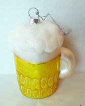 Beer Mug Christmas Ornament - $3.91