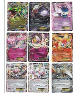 EX Halo Full Art Lot of 9 Pokemon Sylveon Rayquarza Meowstic Victini  - $16.80