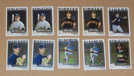2004 TOPPS CHROME 10 CARD FIRST YEAR LOT *MINT* - $0.99