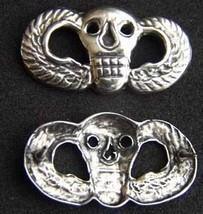 Vietnam SF MACV SOG Skull Wings Badge Sterling       - $30.00