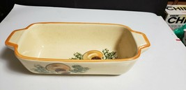 Vintage 1971 Los Angeles Potteries Mushroom Oven Ware #603 Casserole Loa... - $14.85