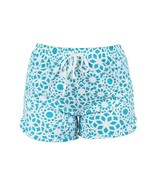 Hello Mello Leisure Time Tranquil Turquoise Lounge Shorts Large/XL - $12.99