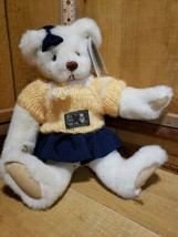 "1984 Vintage Bialosky Bear By Gund - Suzie 13"" Seated w/Tags Sweater & Skirt - $19.01"