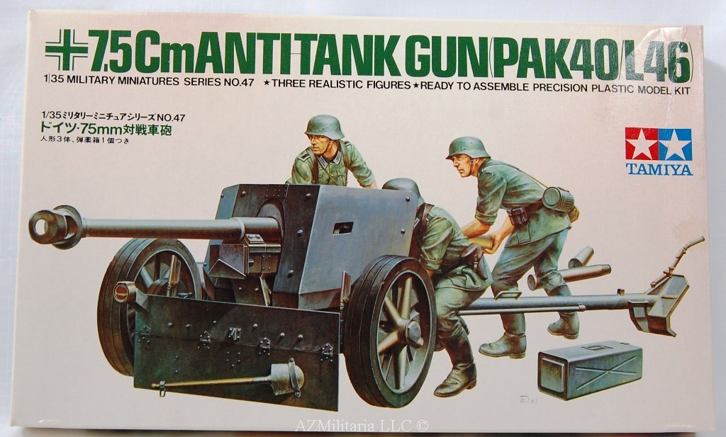 1/35 7.5Cm Antitank Gun (PAK40/L46) Kit No MM 147 Series No. 47