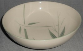 "Winfield Bamboo Pattern 9 3/8"" Salad Serving Bowl Made In California - $79.19"