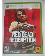 XBOX 360 - RED DEAD REDEMPTION (Complete with Manual) - $18.00