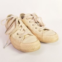 Converse Chuck Taylor All Star Blush Lo Leather Sneaker Ivory Cream Size 6 - $29.65