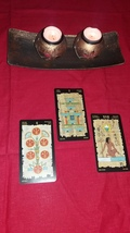 Egyptian Tarot . Reading With Trhee Cards - $13.99