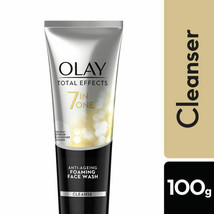 Olay Total Effects 7-In-1 Anti Aging Foaming Face Wash Cleanser, 100g - $9.84
