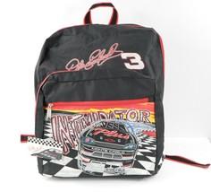 NOS Vintage 90s NASCAR Dale Earnhardt #3 All Over Print Backpack Book Ba... - $49.45