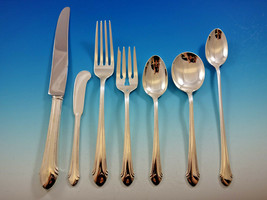 Romantique by Alvin Sterling Silver Flatware Set for 12 Service 90 pcs Dinner - $5,400.00