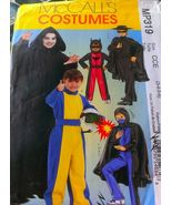 Mccalls P319 Pattern Hero Boys Costume Batman Ninja Grime Reaper - $8.95