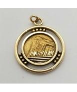 Vintage 10 Karat Gold POG Prudential Old Guard Insurance Pendant Necklac... - $262.35