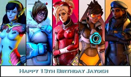 Overwatch Edible image Cake topper decoration - €7,90 EUR