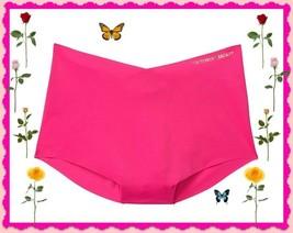 M  Bright Fuchsia NO SHOW Edges Victorias Secret High Waist Midi Brief P... - $10.99