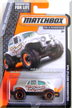 Matchbox - Volkswagen Beetle 4x4: MBX 2014 Collection *White Edition* - $4.00