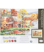 """Paint Works Paint By Number Kit 16""""X20""""-Friends Of Autumn - $67.47"""