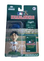MLB Headliners Hideo Nomo 3 Inch Figure Los Angeles Dodgers 1996 Corinthian - $10.39