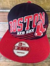 Boston Red Sox Baseball MLB New Era Snapback Regolabile Adulto Cappello - $19.74