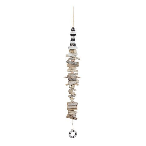 Driftwood Lighthouse 41 Inch Drop Decoration