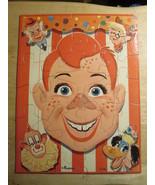 Vintage Howdy Doody Puzzle Set of 3 Milton Bradley - $83.79