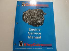1994 Omc King Cobra Stern Drives Motor Service Manuell Fabrik OEM Buch 94 - $89.09