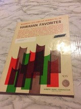 Robbins all-Organ No.10 Hawaiian Favorites 1966 Sheet Music Russ Taylor  - $5.13