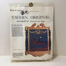 Capt. John Lyne's Tavern Crewel Embroidery Kit Tavern Original Colonial ... - $19.34
