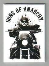 Sons of Anarchy TV Series Jax on Motorcycle Refrigerator Magnet, NEW UNUSED - $3.99