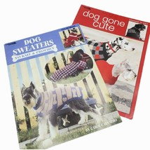Leisure Arts Dog Sweaters to Knit & Crochet Dog Gone Cute Designs to Knit Books - $7.70