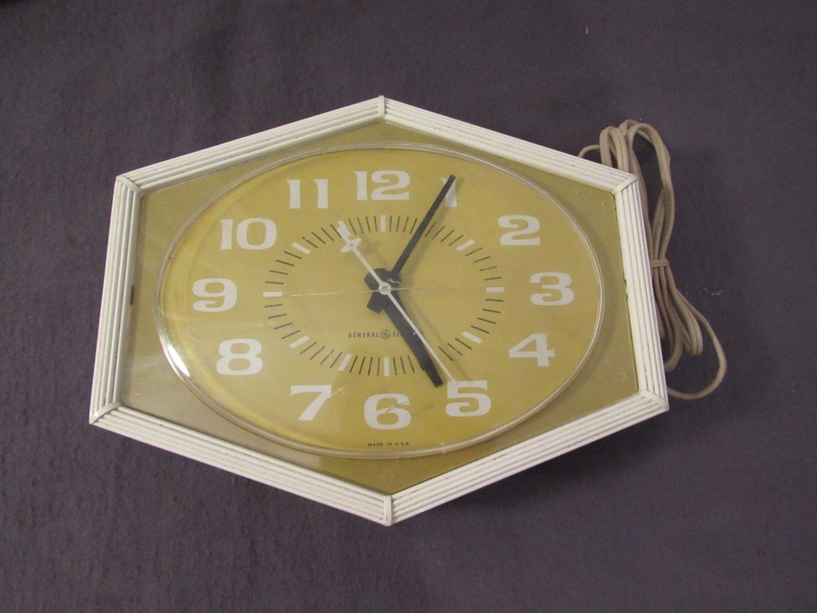 Vintage General Electric Kitchen Wall Clock and similar items