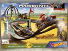 Hot Wheels Mario Kart Circuit Lite Track Set Nintendo VHTF Gift Idea  - $49.99