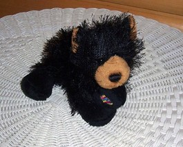 "Webkinz Plush 8"" Golden Face Black Bear WEECARE Program - $4.49"