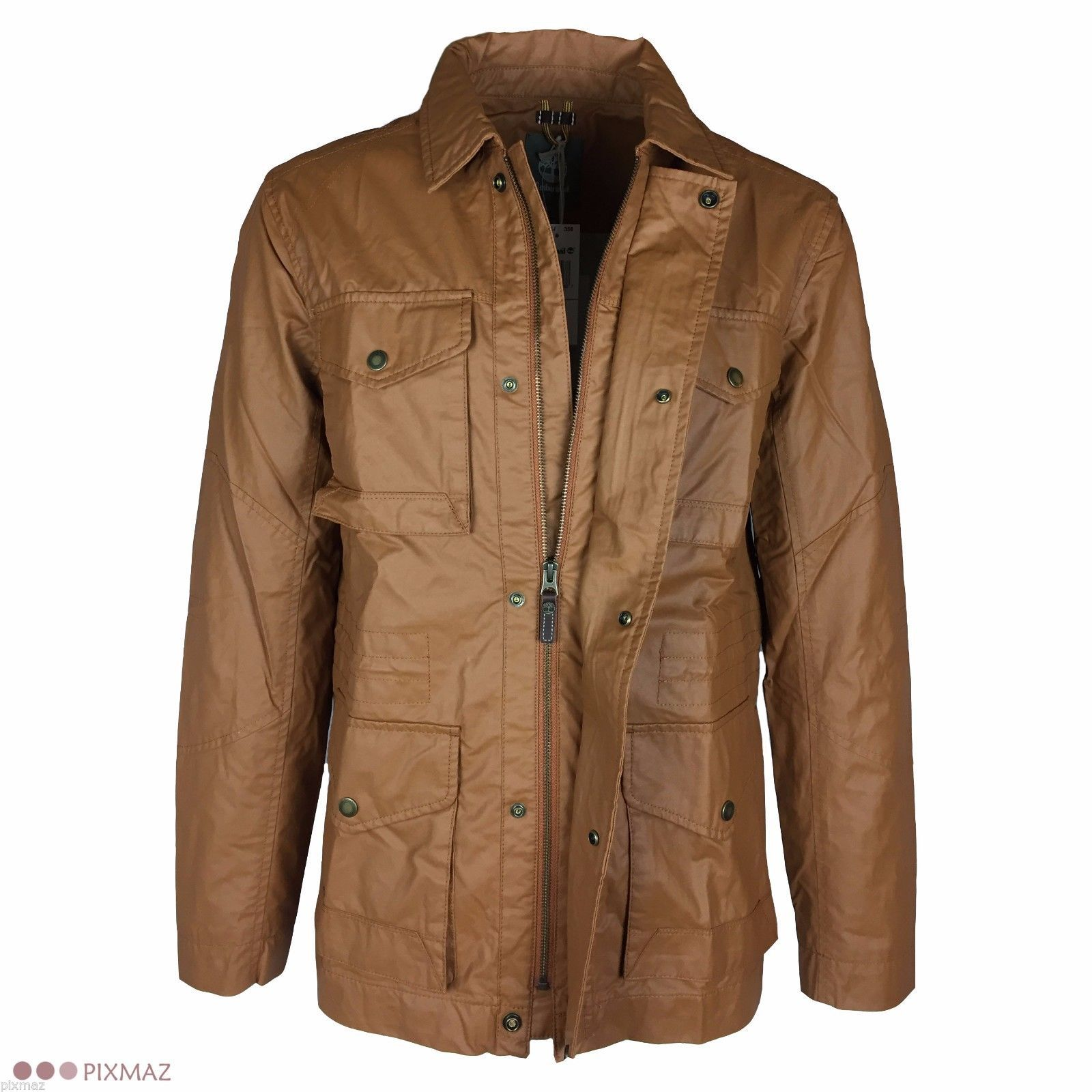 Timberland Men's Mount Wilson Field Fir Yellow Jacket Style #5513J image 2
