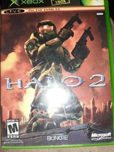 Halo 2 (Original Microsoft Xbox, 2004) Complete with Manual CIB Free Shi... - $7.07