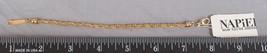 Goldfarben Seil-Armband Napier Gestempelt Schmuck jds2 - $24.75
