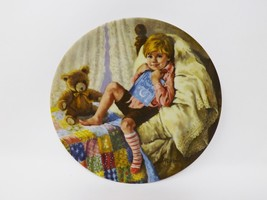 "Reco ""Diddle Diddle Dumpling"" Collectible Plate - Mother Goose Series - $16.14"