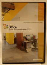 Microsoft Office 2003 Small Business Edition - $14.80
