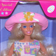 EASTER STYLE Barbie Doll Special Edition  Blonde NRFB - $15.99