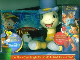 Pinocchio Two-Disc 70th Anniversary Platinum Edition With Plush Toy Of J... - $81.79