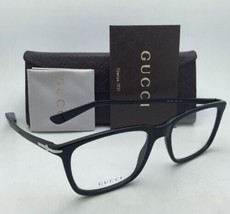 New GUCCI Eyeglasses GG 1105 263 53-18 Black & Matte Black Frames w/ Demo Lenses