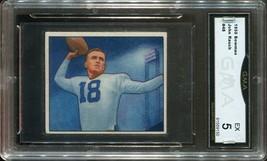 1950 Bowman #48 John Rauch - Georgia (GMA Graded EX 5) - $29.69