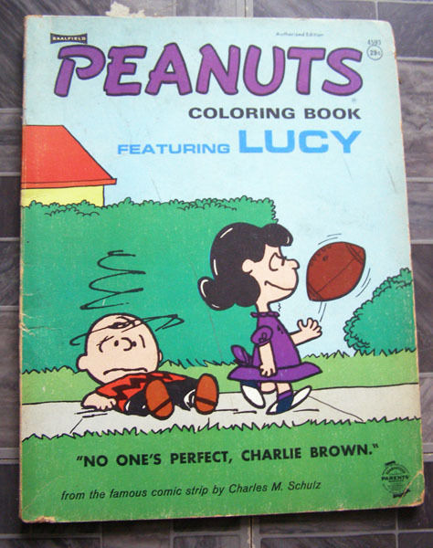 Peanuts Coloring Book (1970s): 1 listing