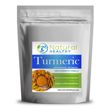 120 Turmeric Capsules - Flat pack - UK Product - High Quality Diet Suppl... - $12.25
