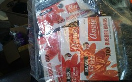 Annie 12 packs of 300 ruber bands. 3147