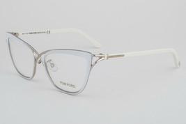 Tom Ford 5272-025 Ivory Silver Eyeglasses TF5272 025 53mm - $489.02