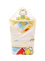 Honey Mokey Pattern Soft And Comfortable Cotton Baby Swaddle Blanket